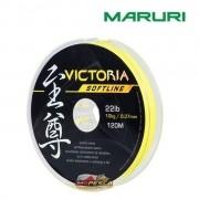 Linha Monofilamento Maruri Victoria Softline Amarela - Carretel com 120m
