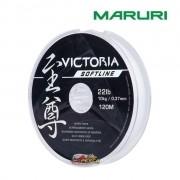 Linha Monofilamento Maruri Victoria Softline Branco - Carretel com 120m