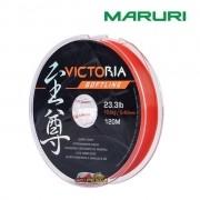 Linha Monofilamento Maruri Victoria Softline Laranja - Carretel com 120m