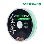 Linha Monofilamento Maruri Victoria Softline Verde - Carretel com 120m
