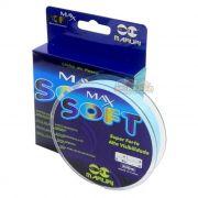 Linha Monofilamento Maruri Max Soft Azul 300m