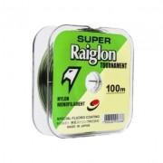 Linha Monofilamento Super Raiglon Tournament Verde 100m