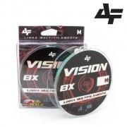 Linha Multifilamento Albatroz Vision 8X Verde - Carretel com 150m