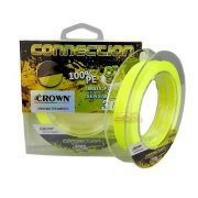 Linha multifilamento Crown Connection 9X 150m - Amarela