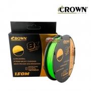 Linha multifilamento Crown Finessi 8X Nano 150m - Verde Neon