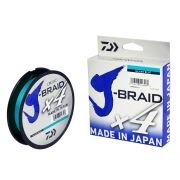 Linha Multifilamento Daiwa J-Braid X4U 270m (300Yds) - Azul