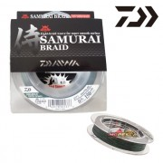 Linha Multifilamento Daiwa Samurai Braid 80LB 0,44mm 150yds