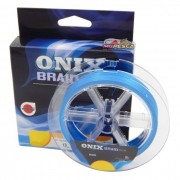 Linha Multifilamento Fastline Onix Braid Blue 0,42mm 65Lb 150m