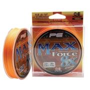 Linha Multifilamento Maruri Max Force 8x Orange - 150 metros