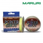 Linha Multifilamento Maruri Power Shot Premium 100% Dyneema - 150m