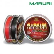 Linha Multifilamento Maruri Thorsa 150m 0.36mm / 78Lb - Cinza