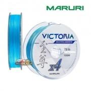 Linha Multifilamento Maruri Victoria 4X Azul - Carretel com 100m
