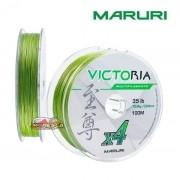 Linha Multifilamento Maruri Victoria 4X Verde - Carretel com 100m