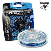 Linha multifilamento Spiderwire Stealth Braid 200Yds - Azul Camuflado