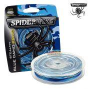 Linha multifilamento Spiderwire Stealth Braid 250Yds - 100 Lb - Azul Camuflado