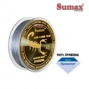 Linha Multifilamento Sumax Scorpion X8 Cinza - Carretel com 300m - SDY-300