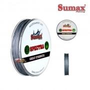 Linha Multifilamento Sumax Spectra Cinza - Carretel com 150m