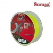Linha Multifilamento Sumax Strong Pro X8 Amarela - Carretel com 300m - SPR-X8