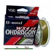 Linha Multifilamento YGK G-Soul WX4 F1 Ohdragon Sinking Type SS140 - 150m