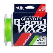 Linha Multifilamento YGK G-Soul WX8 Grand PE Line - 150m