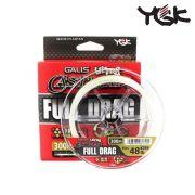 Linha Multifilamento YGK Galis Ultra Cast Man - FULL DRAG WX8 - 300m