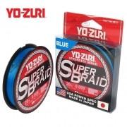 Linha Multifilamento Yo-Zuri Super Braid 300yds Azul - 275m