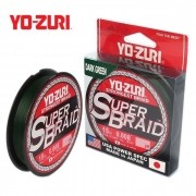 Linha Multifilamento Yo-Zuri Super Braid 300yds Verde - 275m