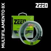Linha Multifilamento ZEEO 8X Verde Musgo - 150m
