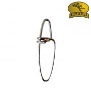 Snap Lizard Fishing Tamanho 4 - 2,4cm - Cartela com 10 unidades