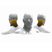 Máscara de proteção Solar Presa Viva MGPESCA Tube Neck - Cinza 02