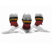 Máscara de proteção Solar Presa Viva MGPESCA Tube Neck - Preta 02