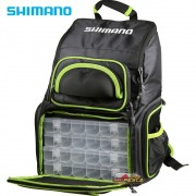 Mochila Bolsa De Pesca Shimano Luggage XL Tackle Backpack LUG1806 com 04 Estojos