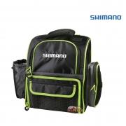 Mochila Bolsa De Pesca Shimano Medium Back Pack Luggage LUG1802 com 03 Estojos