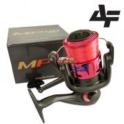 Molinete Albatroz MP 20 - 30 - 40 - Já abastecido com linha monofilamento - Vermelho