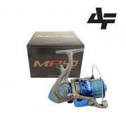 Molinete Albatroz MP 20 - 30 - 40 - Já abastecido com linha monofilamento - Azul