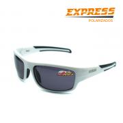 Óculos Polarizado Express Atum Branco - Garantia de 1 ano