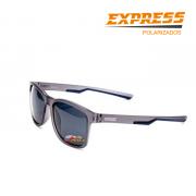 Óculos Polarizado Express Dourada Azul - Garantia de 1 ano