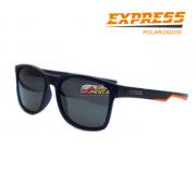 Óculos Polarizado Express Dourada Laranja - Garantia de 1 ano