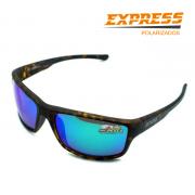 Óculos Polarizado Express Golfinho Verde - Garantia de 1 ano