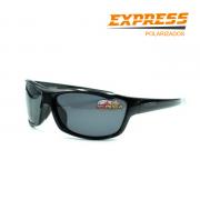 Óculos Polarizado Express Linguado Preto - Garantia de 1 ano