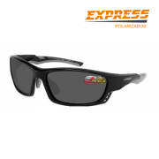 Óculos Polarizado Express Nakamura V Cinza - Garantia de 1 ano