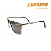 Óculos Polarizado Express Nakamura Vl - Prata ( Garantia de 1 ano )