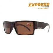 Óculos Polarizado Express Rio Marrom - Garantia de 1 ano