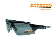 Óculos Polarizado Express Tubarão Preto - Garantia de 1 ano