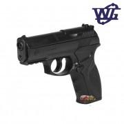 Pistola de Pressão Rossi Gás WG C11 CO2 Polímero Esferas aço 4,5mm