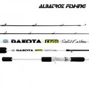 "Vara para carretilha Albatroz Dakota 6"" (1,83m) 12 Lbs - Solid Carbon"