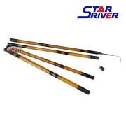 Vara de mão Telescópica Star River Bamboo 450 / 500 / 540