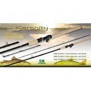 "Vara para carretilha Maruri Serenity 8"" (2,44m) 60 Lbs - SE-C802XH - 02 partes"