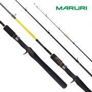 Vara para carretilha Maruri Hajime 6'1 (1,85m) 30 Lbs - HA-C-611MP-R