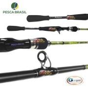 Vara para carretilha Pesca Brasil Millenium Maestro GII 20C Casting - 6'2